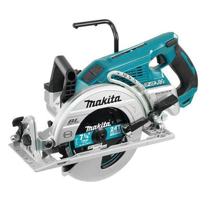 "7-1/4"" Cordless Rear Handle Circular Saw with Brushless Motor (Makita DRS780Z)"