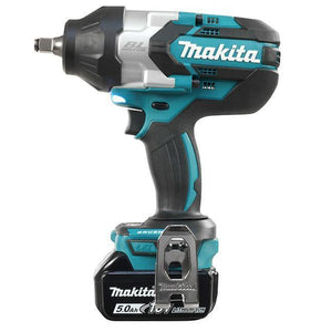 "1/2"" Cordless High Torque Impact Wrench with Brushless Motor (Makita DTW1002RTE)"