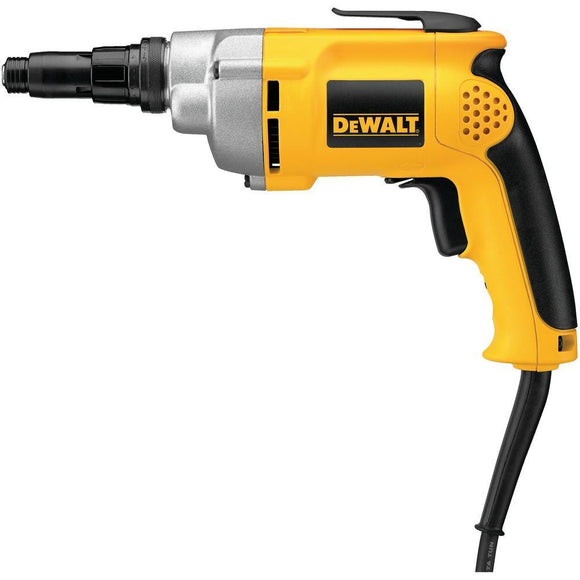 Clearance DEWALT DW268 2,500 RPM 6.5 AMP VSR Versa-Clutch Screwgun