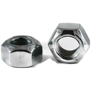 Stover-C Lock Nut, Fine Thread, Grade 8, Zinc Plated