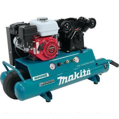 Makita 5.5 H.P Gas Power Air Compressor, Oil Lubricated (MAC5501G)