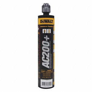 Dewalt AC200+ Acrylic Injection Adhesive Anchoring System