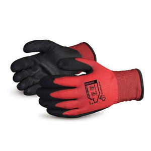 Dexterity Winter-Lined Nylon Gloves with PVC Palm (SNTAPVC)
