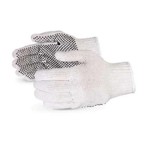 Sure Grip 7-gauge PVC-dotted Economy Knit Gloves