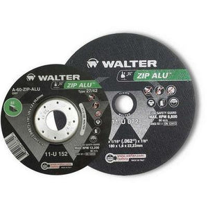 Walter Zip ALU Type 1 Angle Grinder Wheel for Aluminum and Non-Ferrous Metals