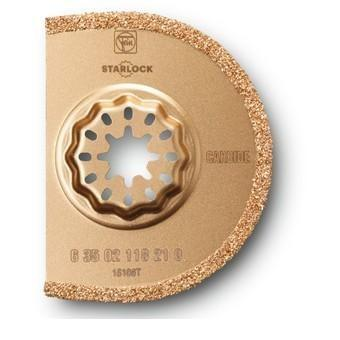 Fein Starlock SL Carbide segment Saw Blades TC -Dia. 75mm x 2.2 Thick 1-PACK (63502118210)
