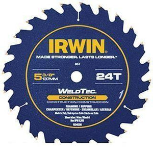 "Combination IRWIN Marathon 6-1/2"", 40 Tooth Circular Saw Blades"