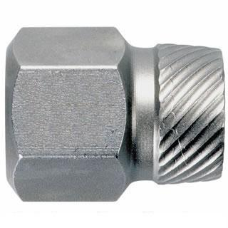 Hex Head Multi-Spline Screw Extractors - 1/2