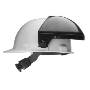 "7"" Crown Face Shield, Headgear to use with Hard Hat - EPHG701R"