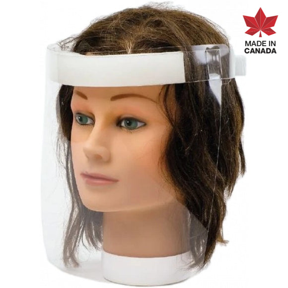 Superior #FSHR Transparent Lightweight Face Shields - Made in Canada