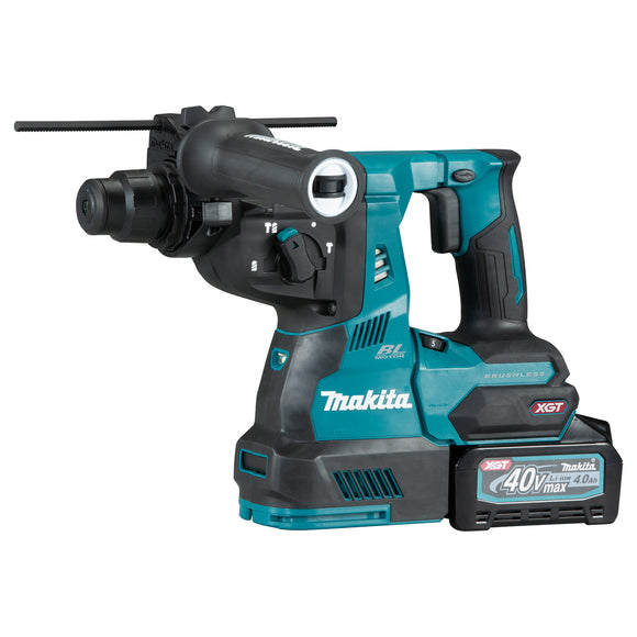 "<b>Exclusive!</b> Makita HR003GZ XGT 40V MAX Li-Ion Brushless 1-1/8"" Rotary Hammer XGT Kit with battery & charger"