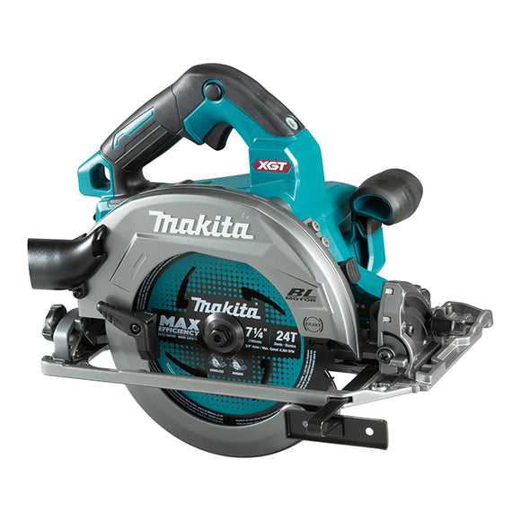 "<b>Exclusive!</b> Makita HS004GZ XGT 40V MAX Li-Ion Brushless AWS 7-1/4"" Circular Saw with Guide Rail Base"