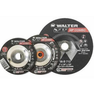 HP Combo Wheel Cutting and Grinding Wheels - Walter