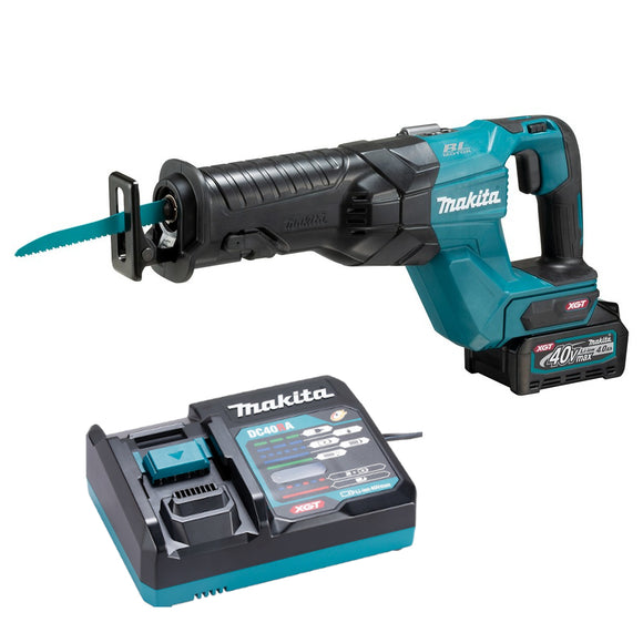 <b>Exclusive!</b> Makita JR001GZ XGT 40V MAX Li-Ion Brushless Reciprocating Saw XGT Kit with battery & charger