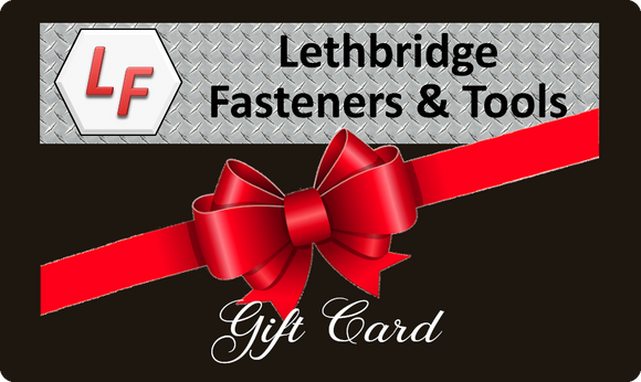 Lethbridge Fasteners Gift Card