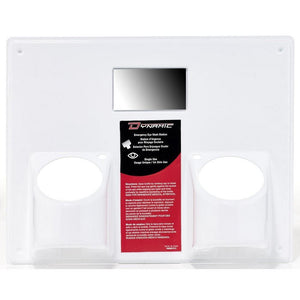 Eye Wash Station Panel Only for Two  500ml (16 oz) Bottles