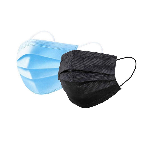 3 Layer Disposable Face Masks - 50/box