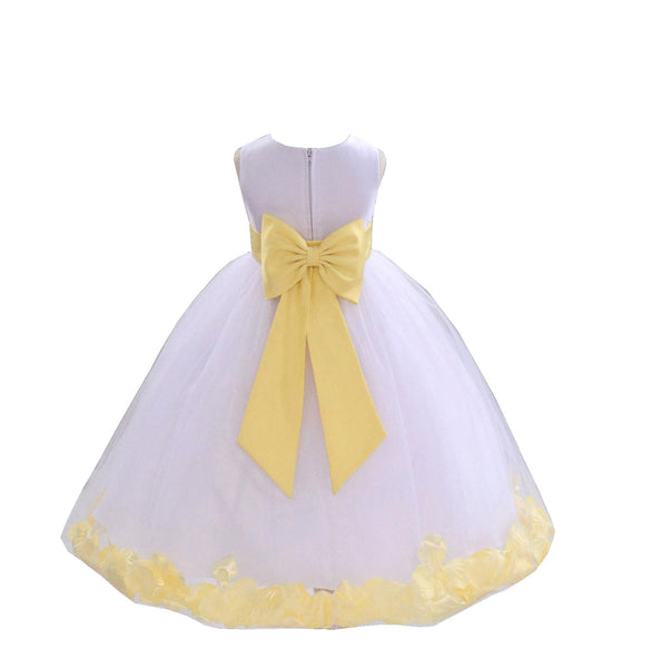 Belle's Canary Yellow Ball Gown