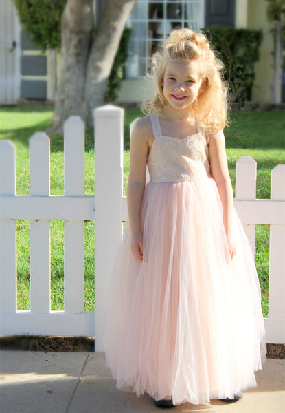Sweetheart Neck T-Back A-Line Flower Girl Dress Birthday Dress Formal Junior Pageant Reception 179