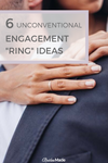 unique and unconventional engagement ring ideas