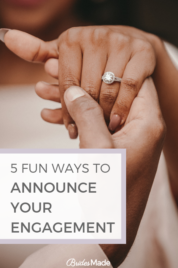 5 fun ways to announce your engagement on facebook