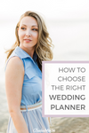 How to choose the right wedding planner for you