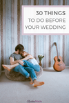 Things to do before your wedding
