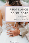 First song ideas based on how you met