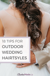 outdoor wedding hairstyles