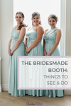 Bridesmaid booth things to see and do
