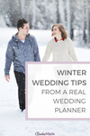 Winter Wedding Tips From a Real Wedding Planner
