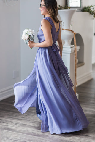 purple bridesmaid dress canada