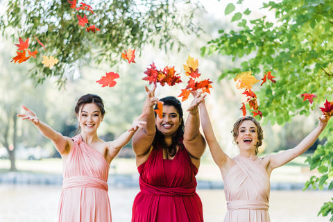 5 reasons to rent your bridesmaid dresses affordable bridesmade