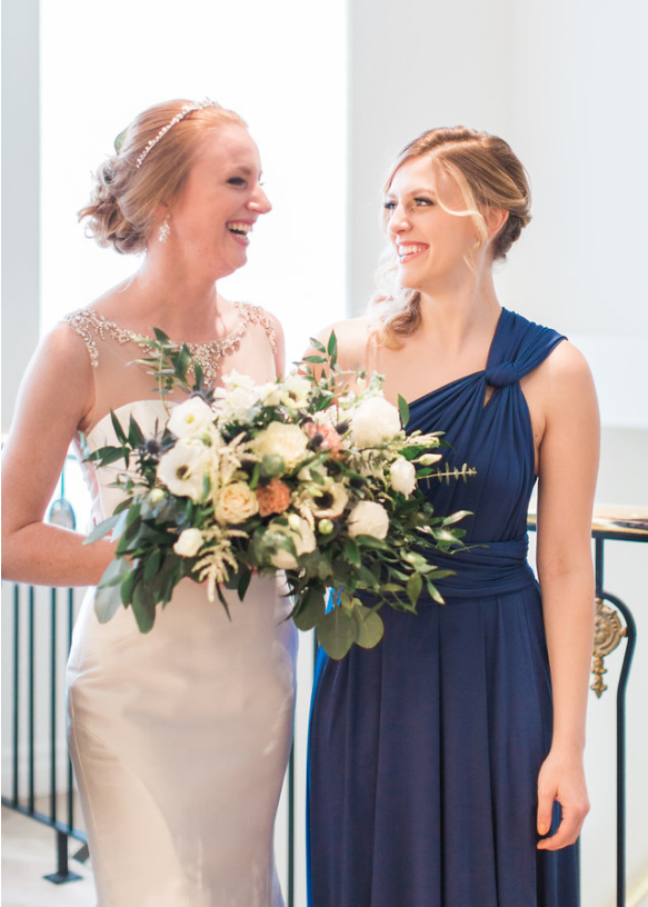 midnight blue bridesmaid dress canada rental