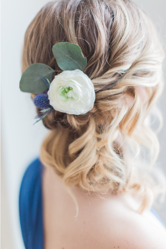 Bridesmaid hair ontario canada styled shoot