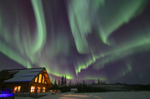 northern lights honeymoon package in Canda