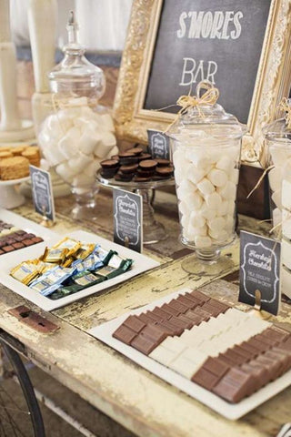 Smores bar wedding
