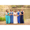 Bridesmaid Dresses - Infinity Bundle- Blues - BridesMade