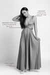 Bridesmaid Dresses - Infinity Floor Length Sample Dress - BridesMade