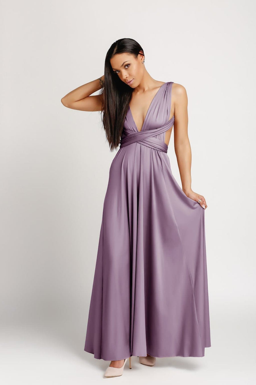Bridesmaid Dresses Canada - Infinity Floor Length Bridesmaid Dress - BridesMade Online
