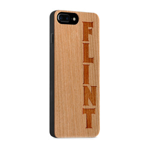 Wood - Flint iPhone Case