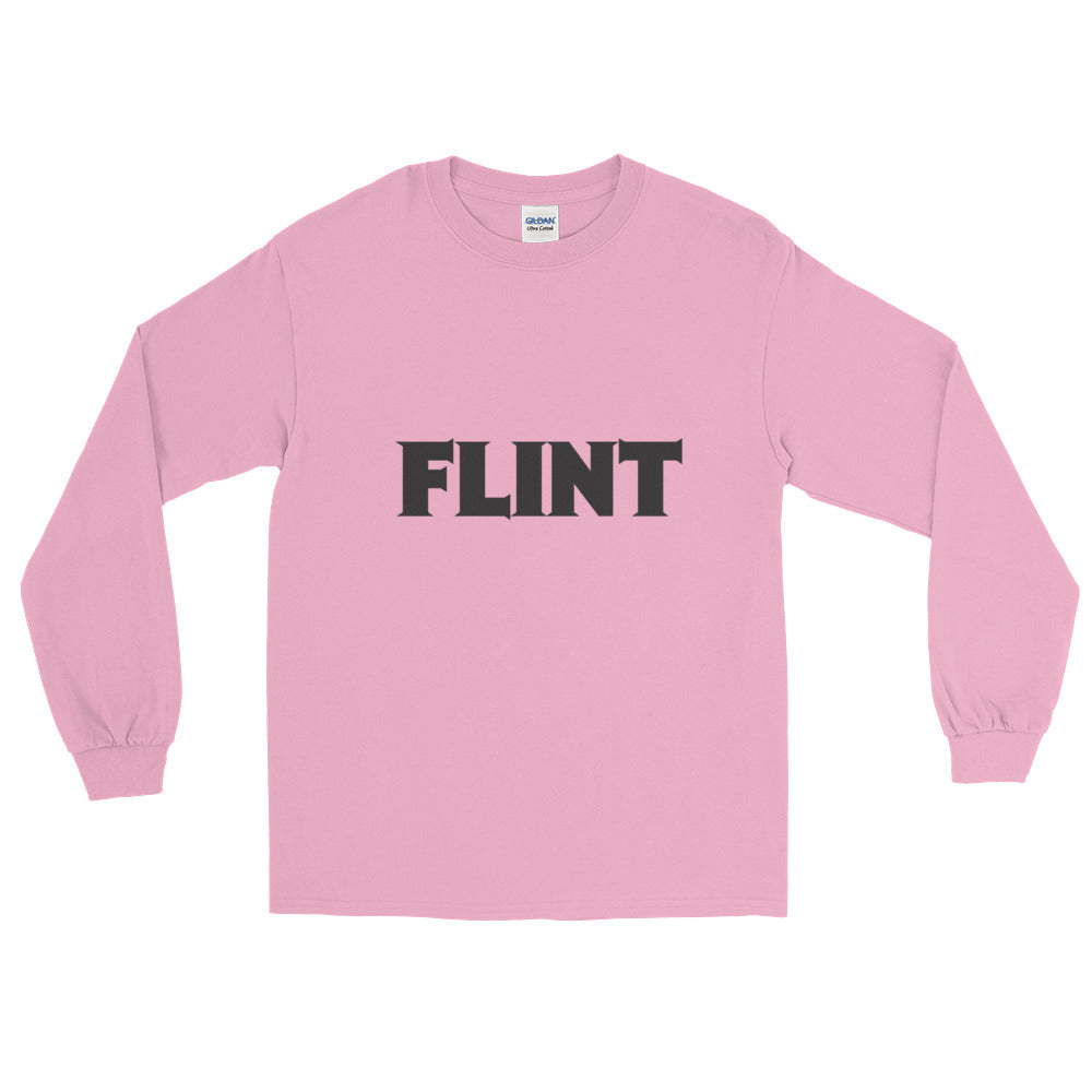 Flint Logo Long Sleeve T-Shirt