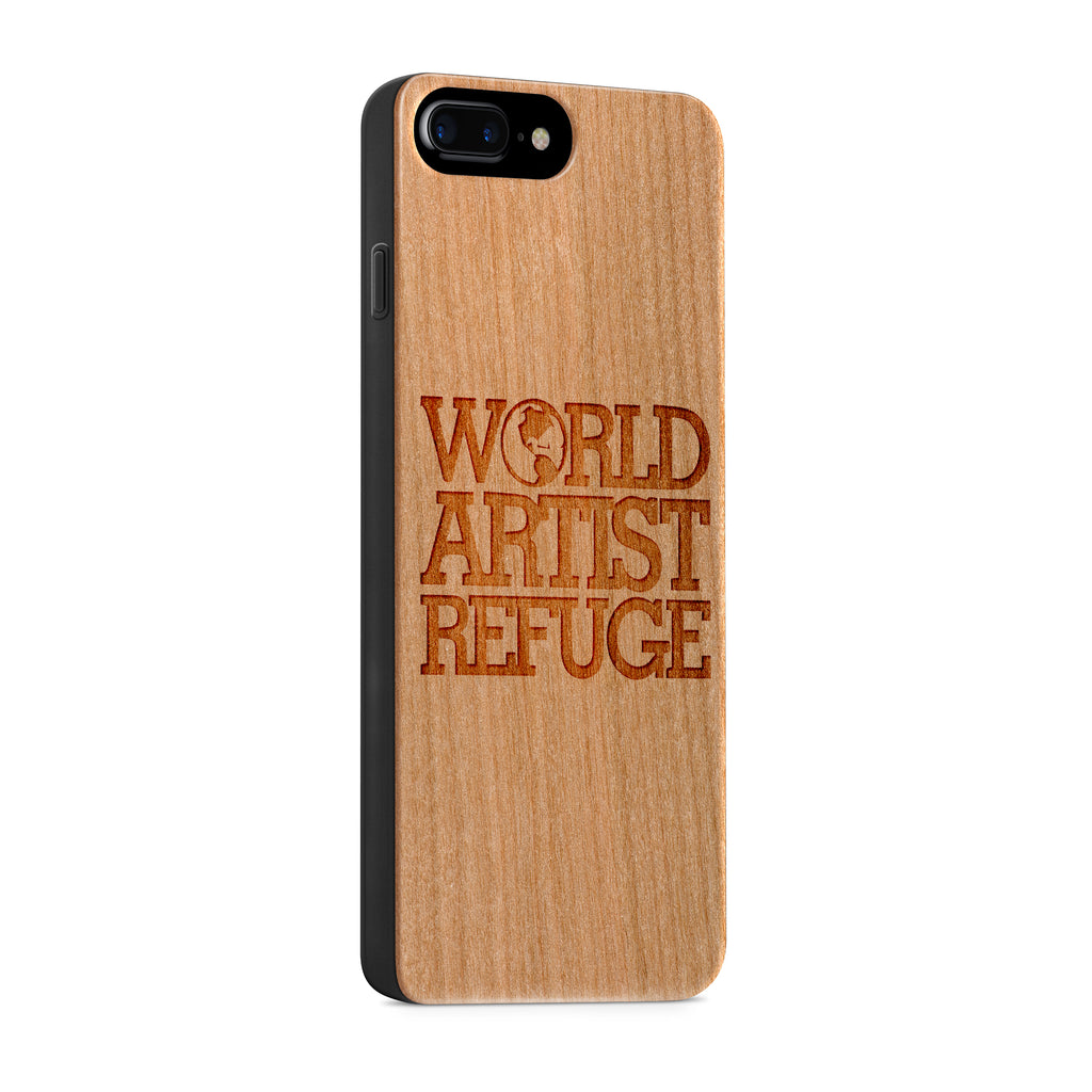 Wood - World Artist Refuge iPhone Case