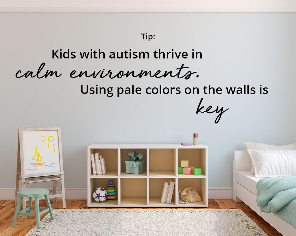 Creating A Sensory Friendly Bedroom Children Color