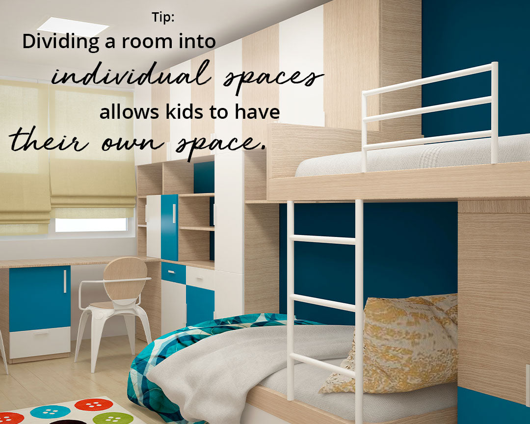 Splitting up rooms with multiple children