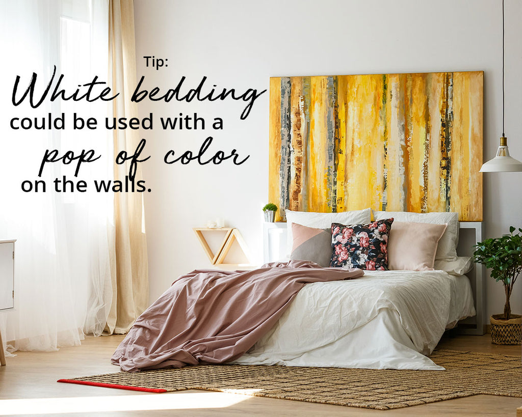 Consider neutral bedding