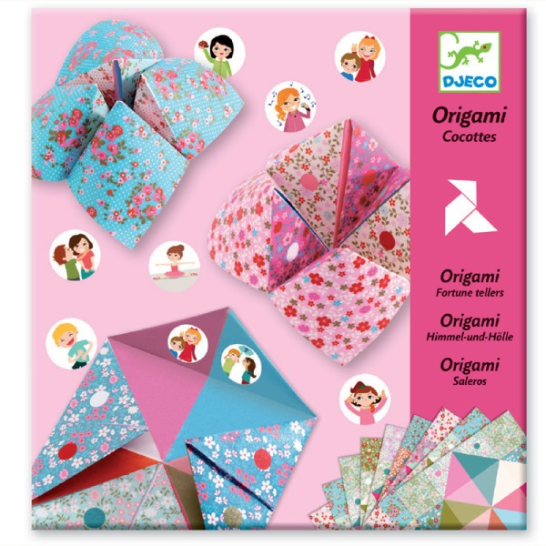Djeco Arts & Crafts- Origami, Fortune Tellers