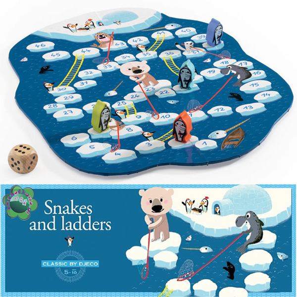 Djeco Games- Snakes and Ladders