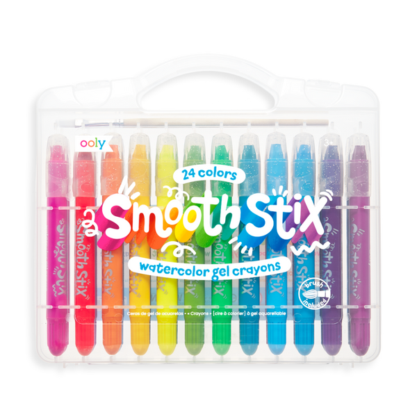 Smooth Stix Watercolour Gel Crayons, 24 PC set