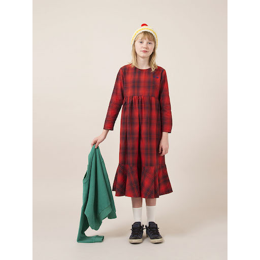 Bobo Choses Rainbow Flounce Dress